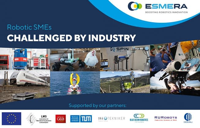 ESMERA is Hitting the 2021 IROS Exhibition!