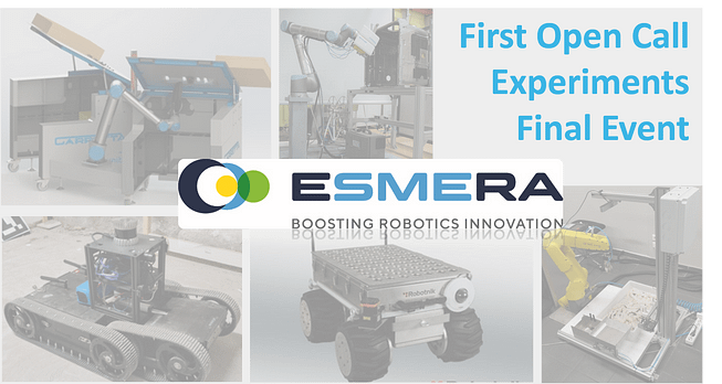 Onboard now to attend the final demonstrations of the top ranked finalists of Open Call I in ESMERA